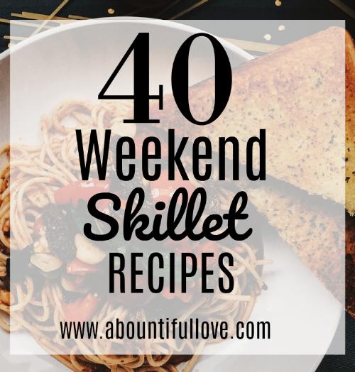 40 Weeknight Skillet Recipes
