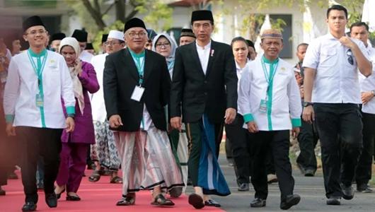 Dituding Kriminalisasi Ulama, Jokowi: Sampaikan Siapa Nama Ulamanya?