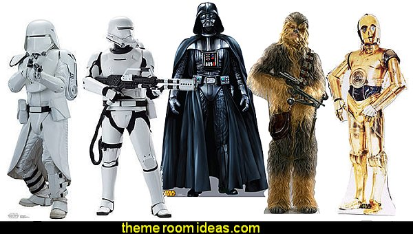 star wars Life Sized Character Cut Out Standees