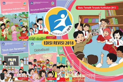 Download Buku Tematik Terpadu Kurikulum  Download Buku K13 Kelas 6 Semester 1 SD/MI Revisi 2018