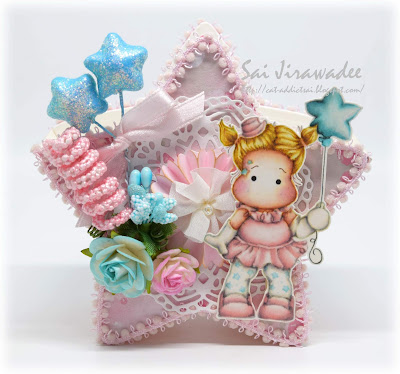 Star Balloon Tilda Box