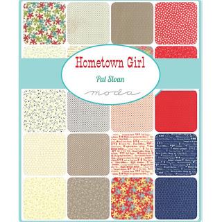 Crazy Quilt Girl Fabric Shop Moda Hometown Girl Prints