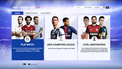 PES 2013 Next Season Patch 2019 Update v5.0 AIO Season 2018/2019