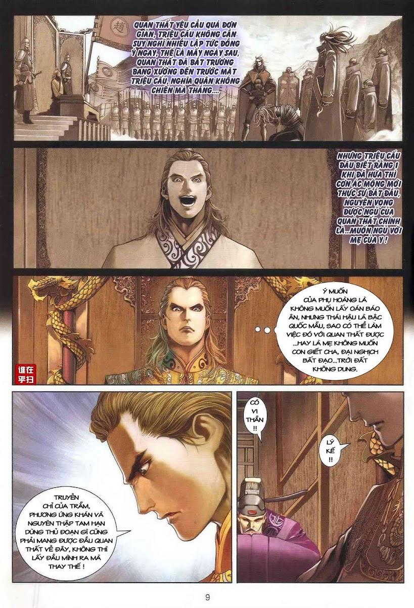 Ôn Thụy An Quần Hiệp Truyện chap 25 trang 9