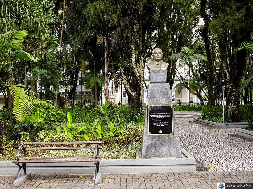 Praça Nereu Ramos em Criciúma -  Diário de bordo - Encontro Rota Sul em Santa Catarina