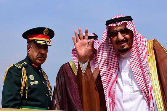 Raja Salman Berjanji Akan Mengecam Iran dan Akan Melenyapkan ISIS