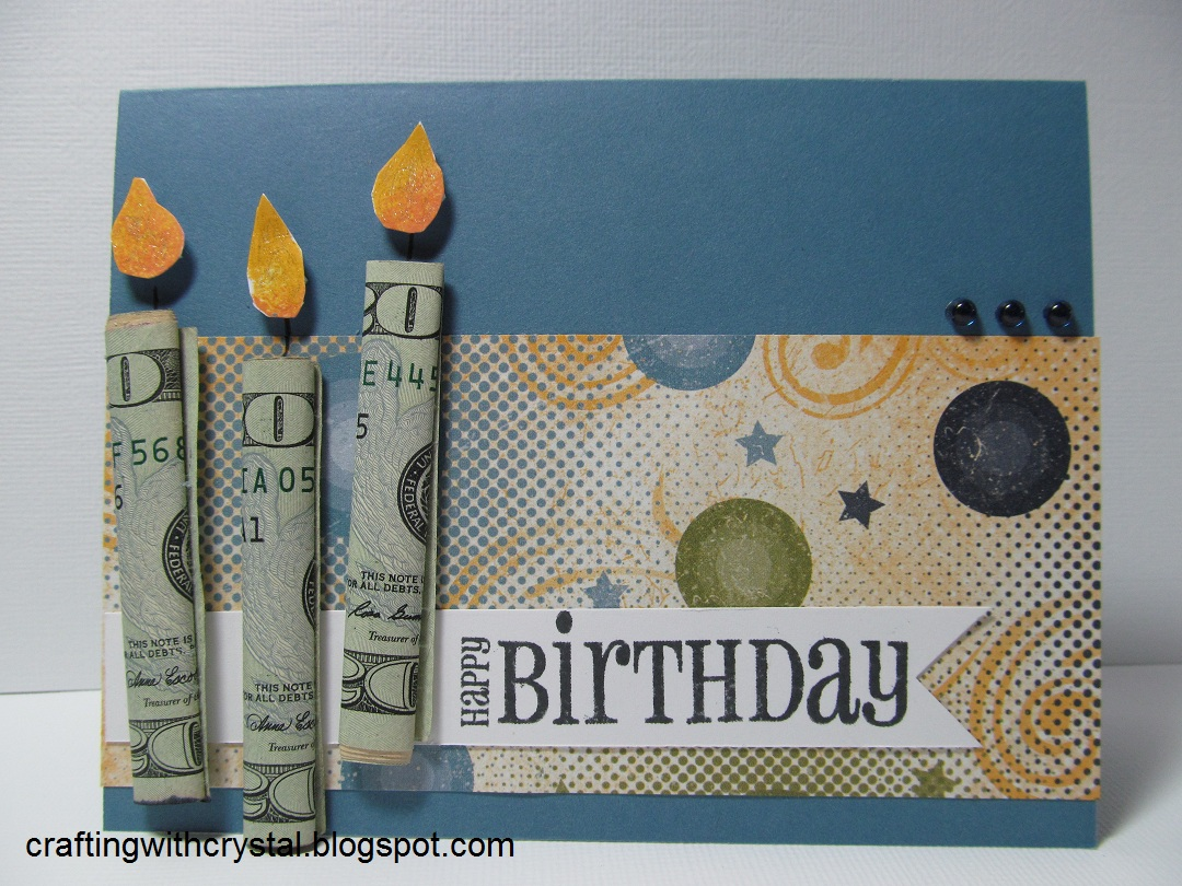 Crafting With Crystal: Money Gift on the Card!