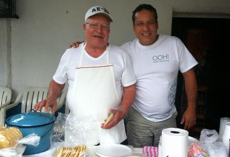 Tostadas de ceviche guero cevichero Puerto Vallarta