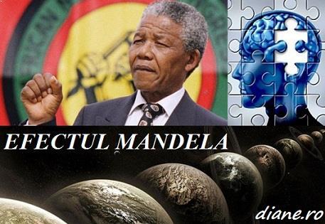 Efectul Mandela:  Amintiri false