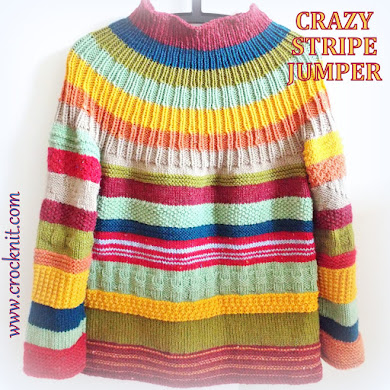 CRAZY STRIPE JUMPER