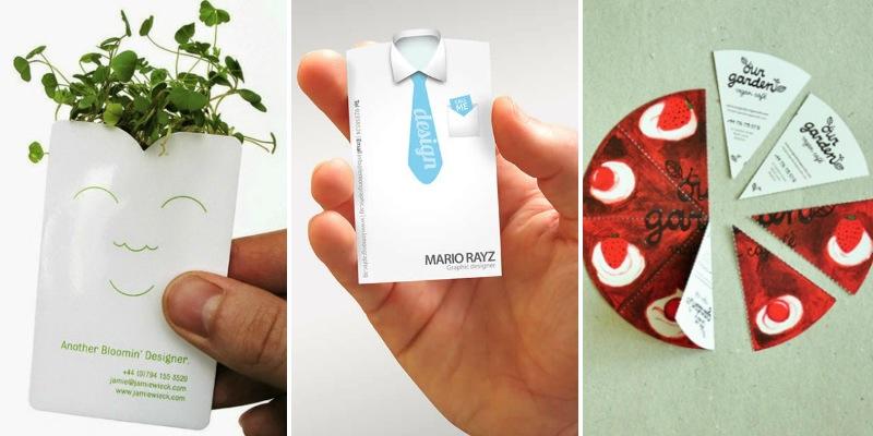بالصور:  10 تصميمات ملهمة لبطاقات وكروت أعمال بأفكار إبداعية