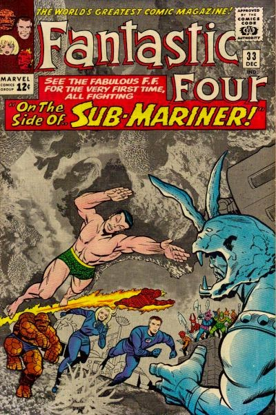 Fantastic Four #33, Sub-Mariner and Attuma