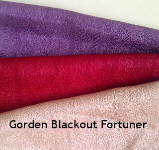 Gorden Blackout Fortuner