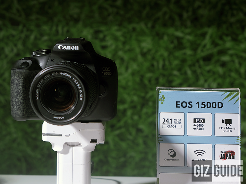 Canon announces EOS M50, 3000D, 1500D, and G1X Mark 3 in the