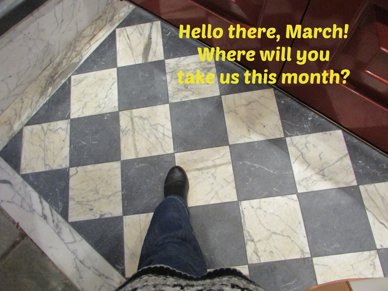 March is here! Welcome, Spring!