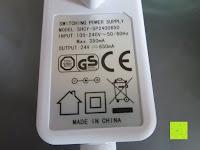 Sicherheit: [Aroma Diffuser] E-PRANCE® 100ml Ultraschall Luftbefeuchter Duftzerstäuber mit LED Farbwechsel, sicher und leise, Höhe 14cm