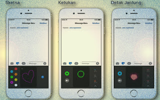 Fitur Efek Digital Touch di Layanan iMessage