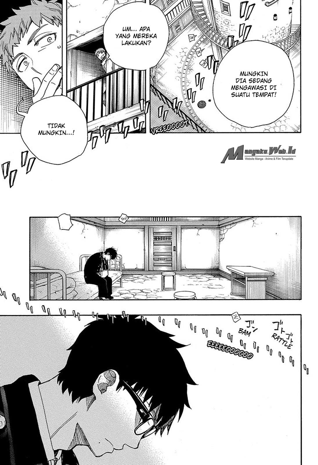 Ao no Exorcist Chapter 95-32