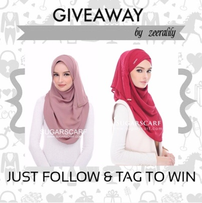 Giveaway Sugarscarf by zeeralily