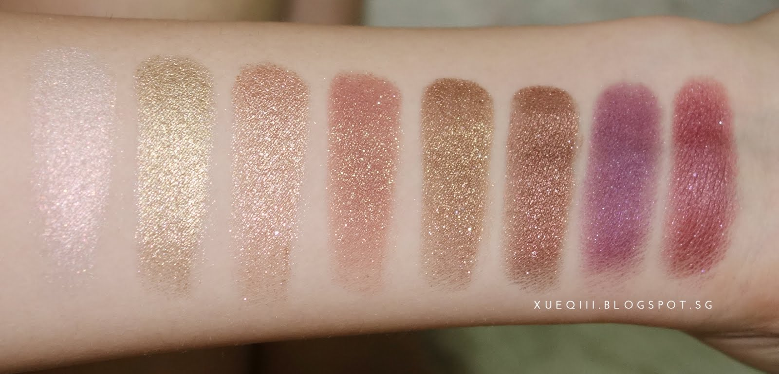 Polite AF Super Shock Shadow Collection by Colourpop #7