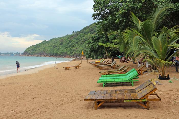 Jungle Beach bei Unawatuna