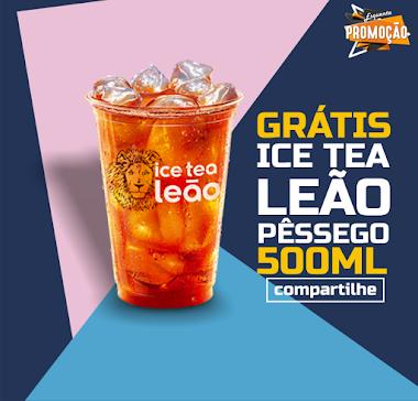 Bebida Grátis - CUPOM ICE TEA LEÃO DO MC DONALDS GRÁTIS