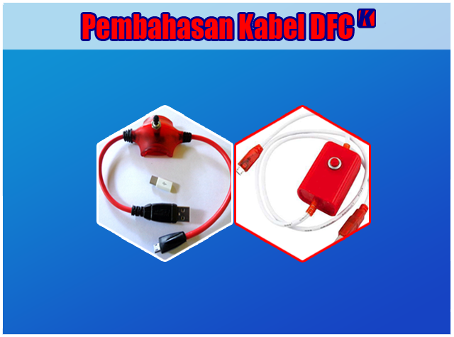 Pengertian dan Fungsi Kabel USB DFC (Deep Flash Cable)