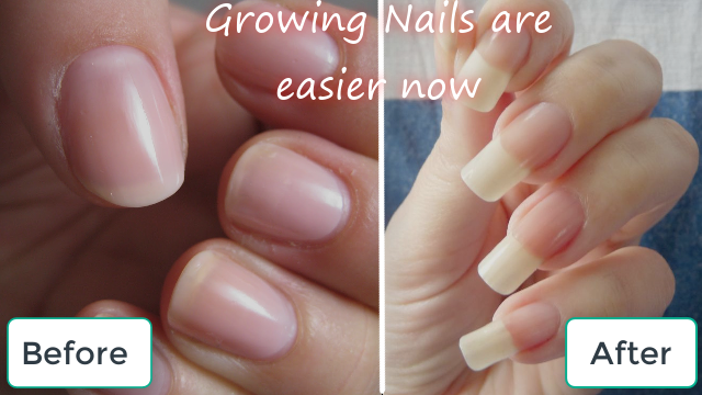 How to Grow Long Strong Nails Fast at Home (3 days Challenge)