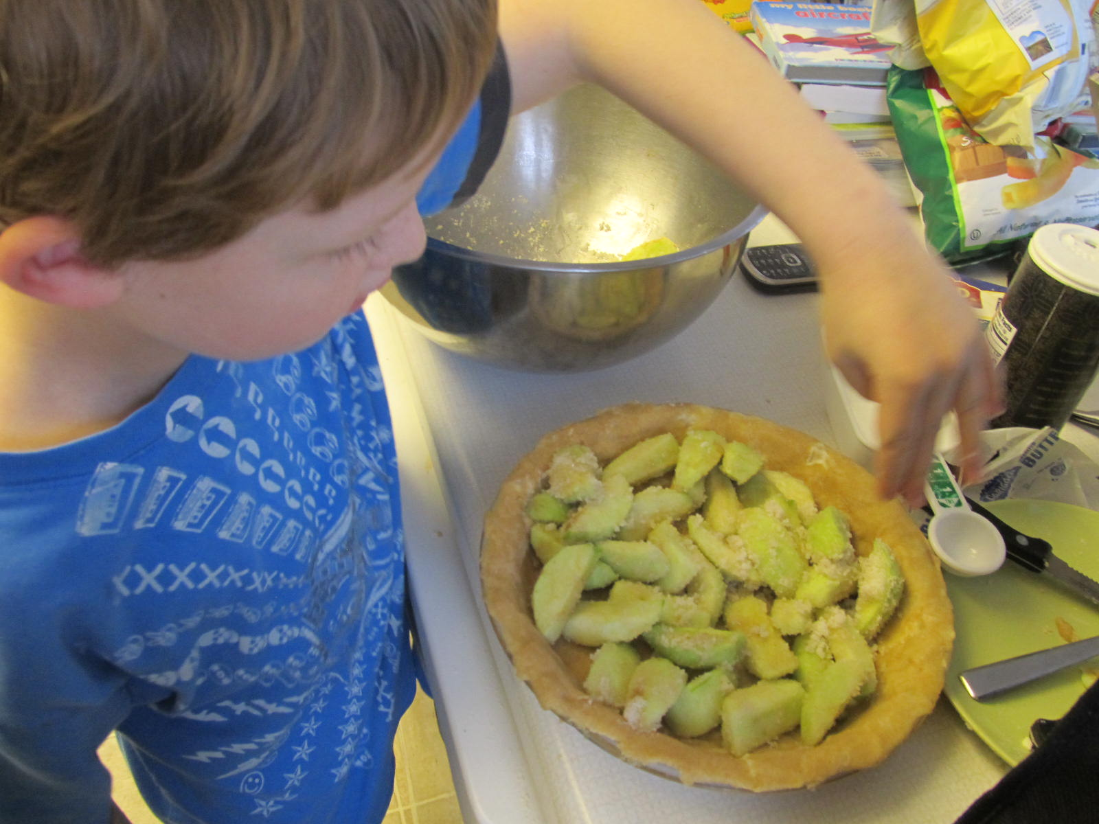 Life In The Unknown How To Make An Apple Pie Fiar