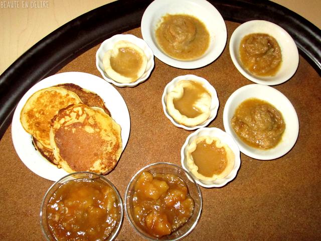 La variété de dessert de la cabane à sucre JaRo.