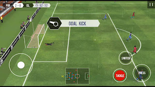 Games Real Football 2017 Mod Apk v1.3.2 (Unlimited Money)