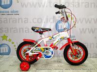 Sepeda Anak Laki-Laki United Shark 12 Inci