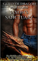 Master of the Guild of Dragon Warriors, Jaxon is heading back to their sanctuary, exhausted and injured, after a battle that the human realm has never before encountered. Supernatural beings fighting against the Demon King for survival of not only them, but all of humanity. It was horrendous, tortuous, and downright brutal. He and his fellow Dragons were lucky to escape with their lives and all he wants now is to reach home and recover, knowing it will take days for him to reach full fitness again.  When an urgent call for help reaches them, he has no option but to head out again and give the aid that he is sworn to deliver. What he finds is a unique being that is under threat and he vows to ensure her safety. No matter the cost.  His Dragon Warriors rally round and they must fight to protect the female in dire need of their defense. But Jaxon is not quite prepared for the consequences of his mercy mission and must make a decision that he never thought possible.