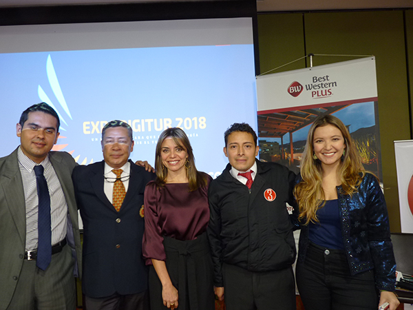 [Sociales] Se realizó la primer ExpoDigitur en Best Western Plus 93 de Bogotá