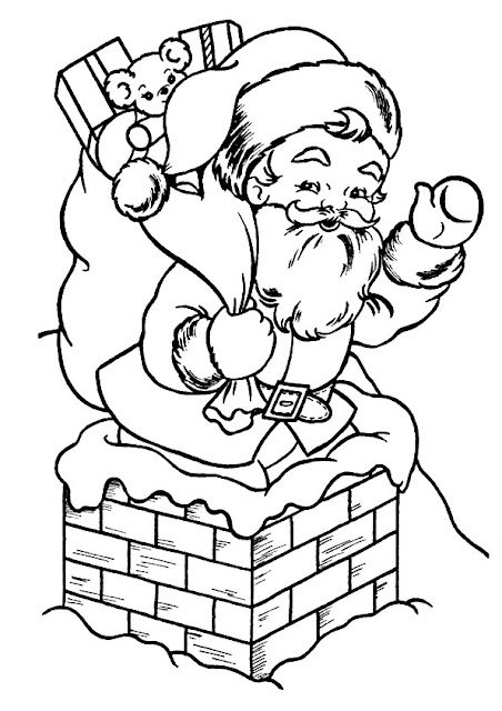 Santa Claus Coloring Pages 2018