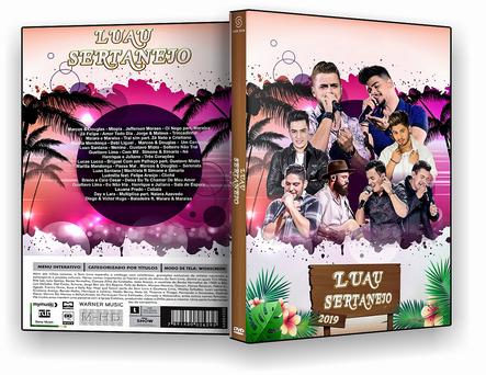 CAPA DVD – Luau Sertanejo 2019 – DVD-R