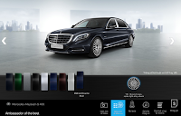 Mercedes Maybach S400 4MATIC 2017 màu Xanh Anthracite 998