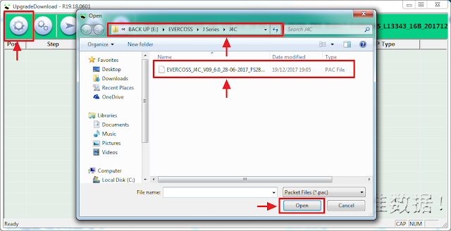 masukkan firmware untuk flash evercoss j4c