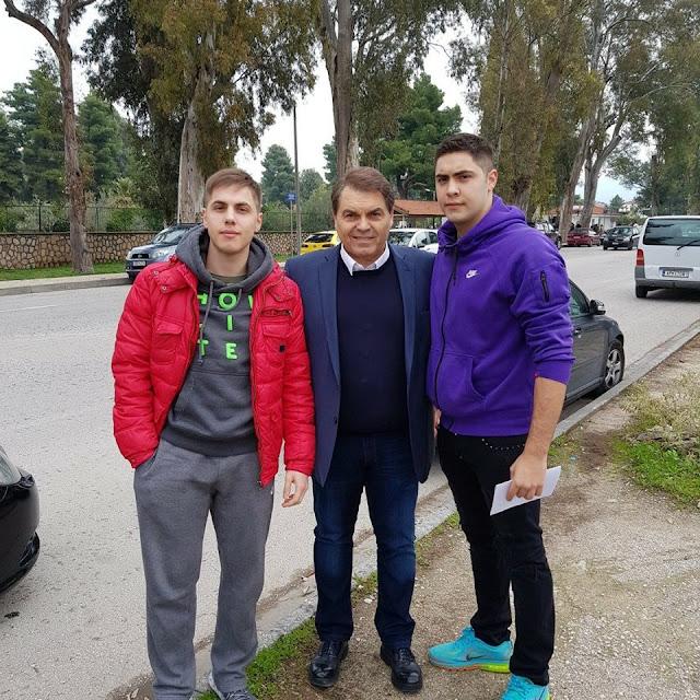 Στα χέρια της πατρίδας και οι δυο γιοι του Δήμαρχου Άργους Μυκηνών Δ. Καμπόσου