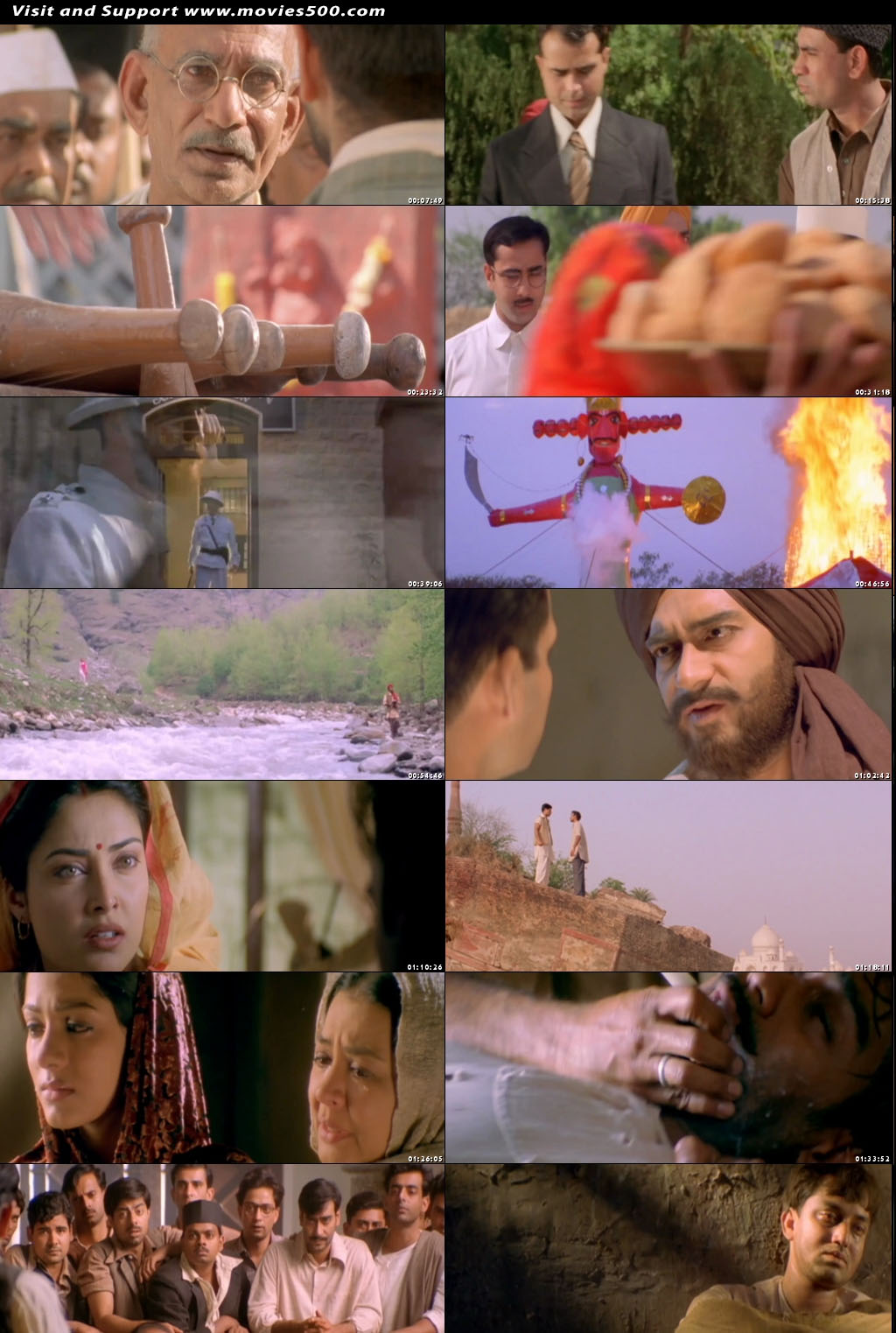 The Legend Of Bhagat Singh 2002 Hindi Movie Download at movies500.com