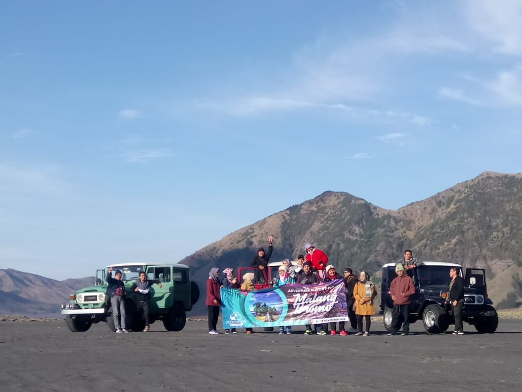 MALANG BROMO 17-19 NOV 2018 WITH STAFF BATAN