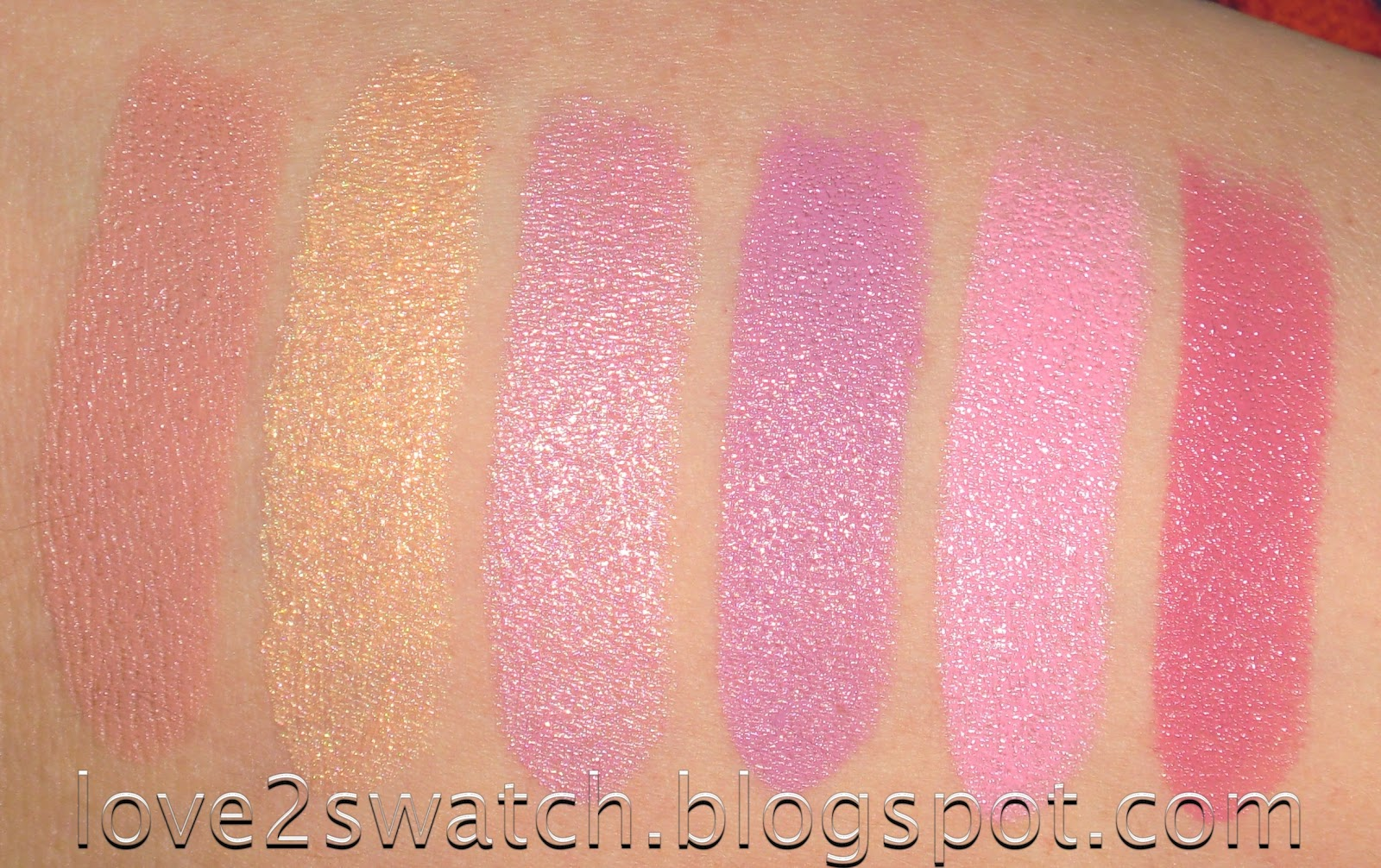 Love2Swatch: Nyx Round Lipstick Swatches: Part 1