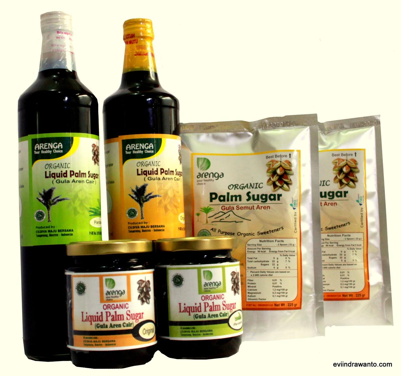 liquid palm sugar gula cair