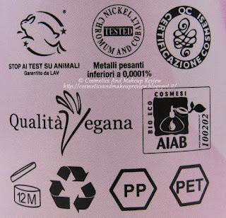 Alkemilla - Acqua di Rose Micellare - certificazioni