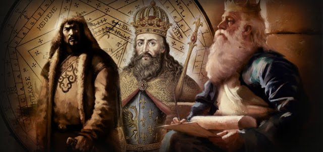 Magic Ring Power Behind Solomon, Genghis Khan and Charlemagne?