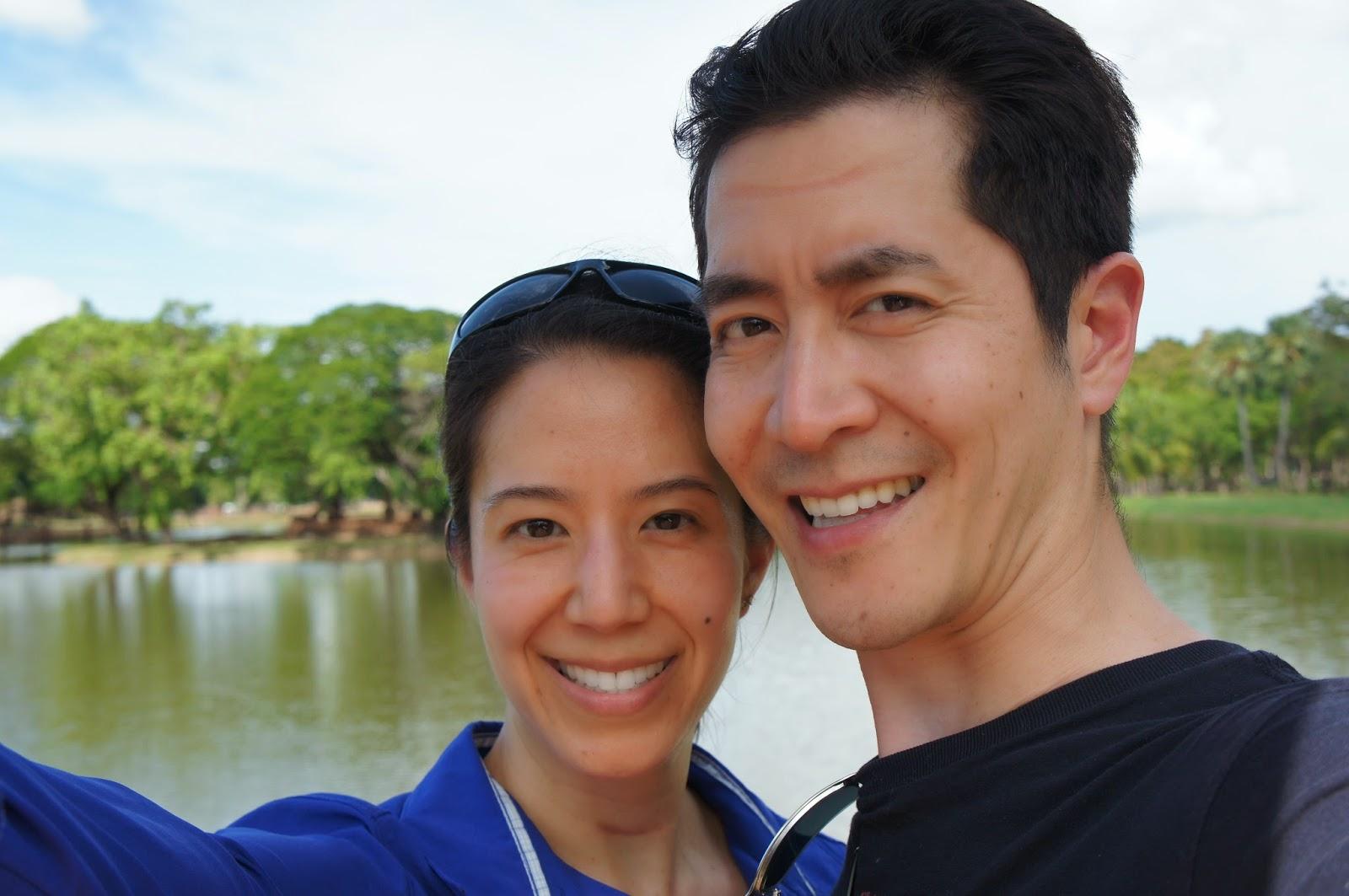 Old Sukhothai - Selfie in Sukhothai