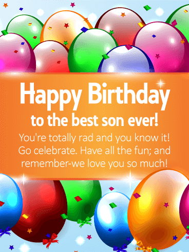 Funny Birthday Son Wishes | Quotes | Messages and Images