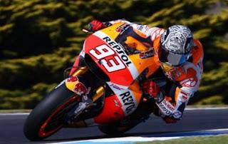 Hasil MotoGP Prancis 2018: Marquez Juara, Rossi Finis Ketiga