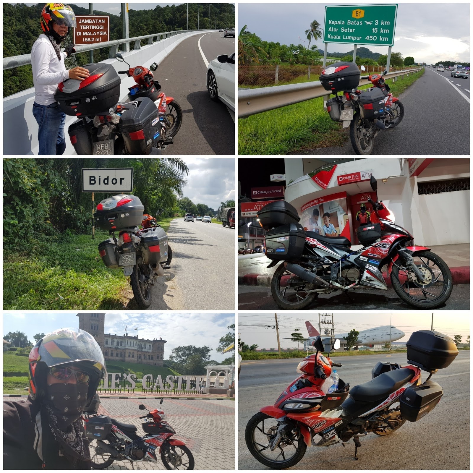 Dari Simpang Taiping adalah perjalanan terakhir Kembara 1000 Corners Thailand Dari Simpang aku menggunakan Hiway PLUS sehingga ke Simpang Pulai dan mula