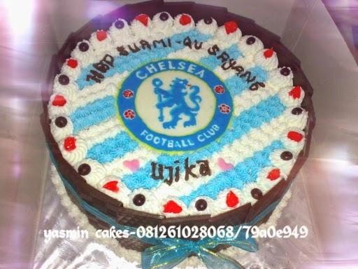Cake tema chelsea fc